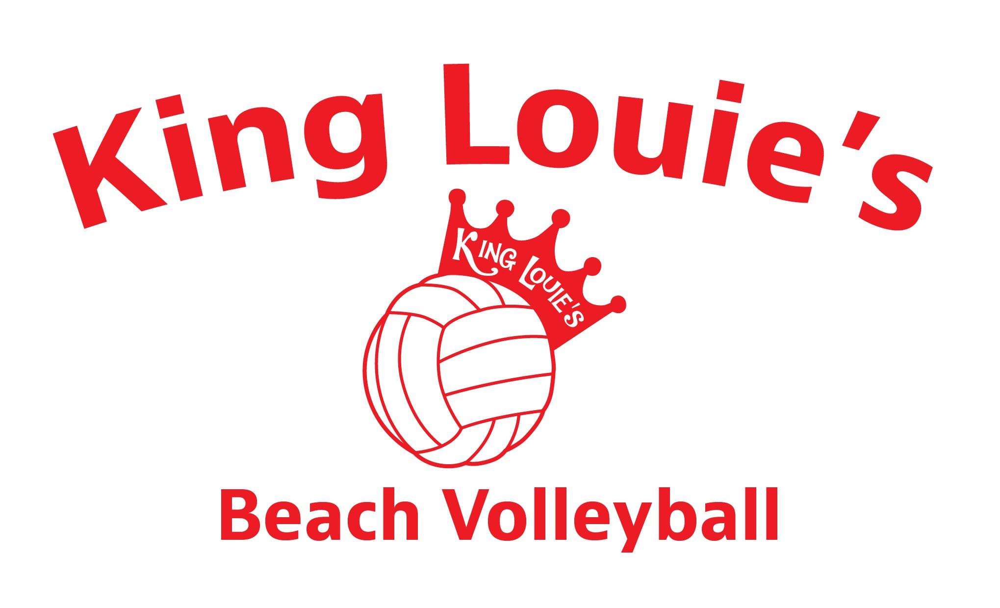 King Louie's Beach Volleyball logo